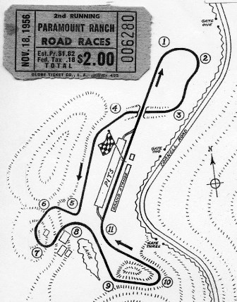 Paramount Ranch Road Course