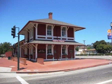 Santa Paula Train Station