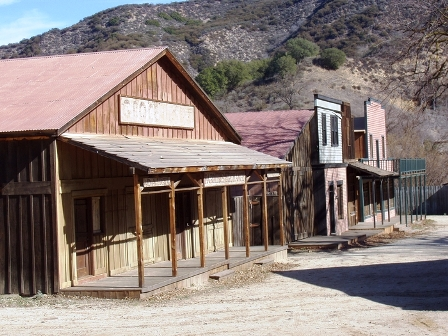 Paramount Ranch Movie Set